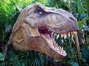 T rex In Jurassic Park